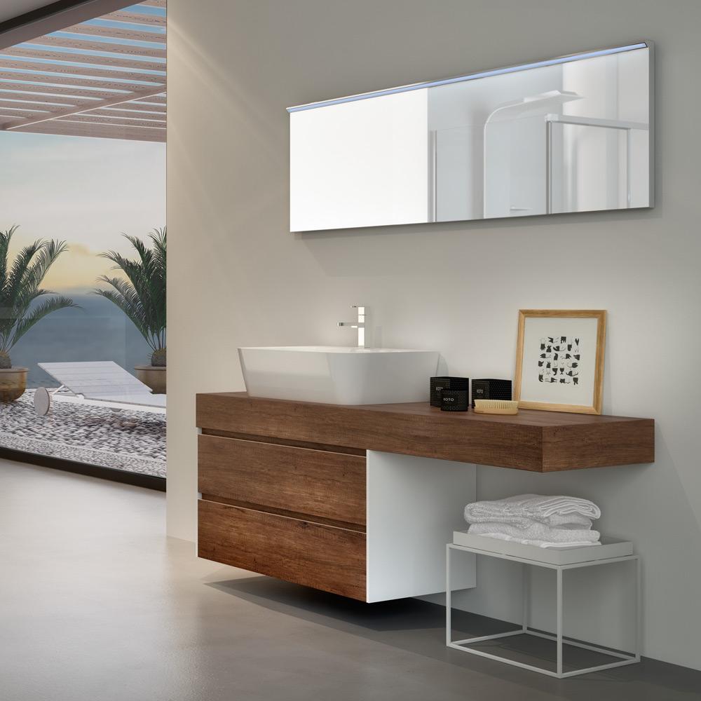 Arredo bagno hafro geromin - Mobile bagno moderno economico ...