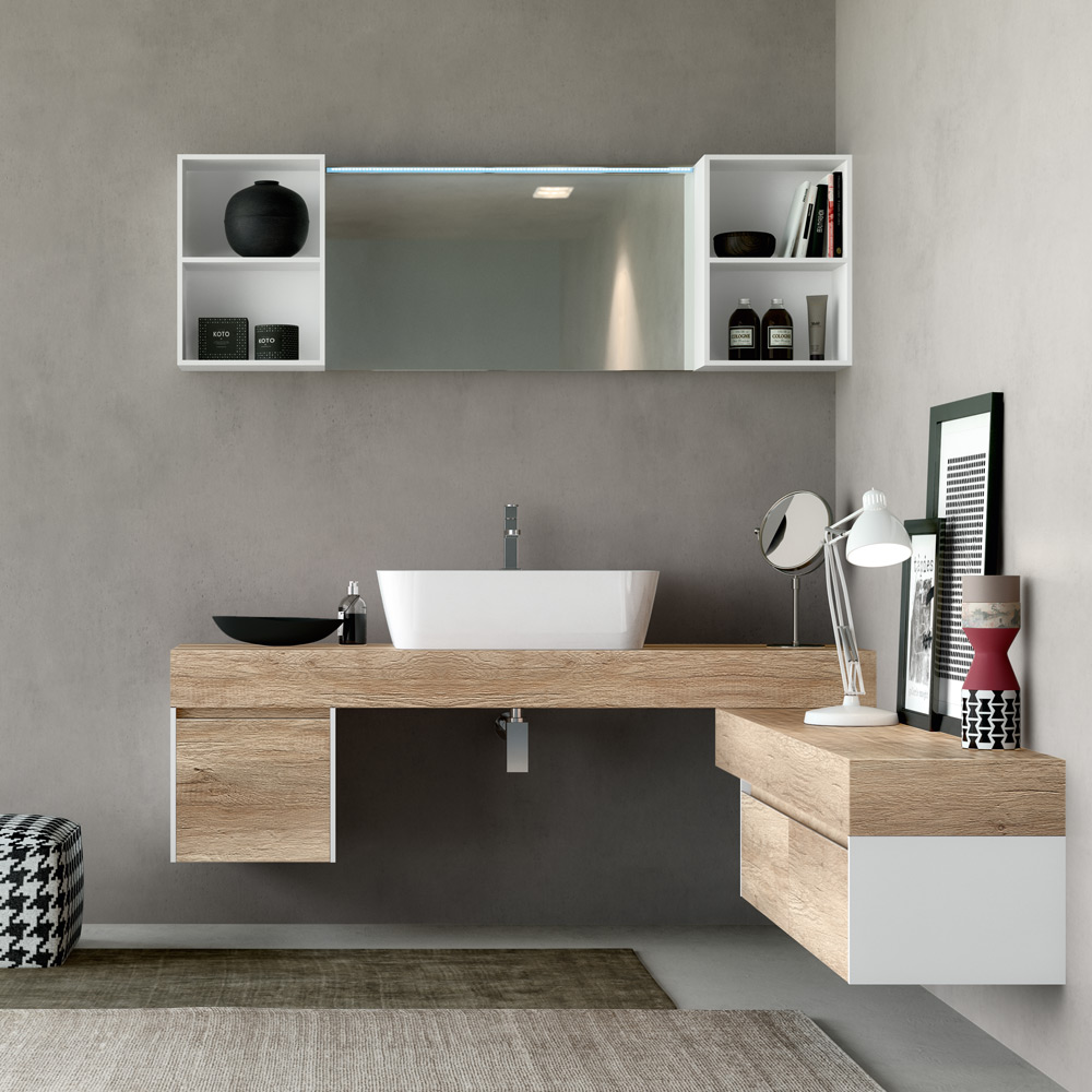 Change hafro geromin for Mobili bagno bianchi