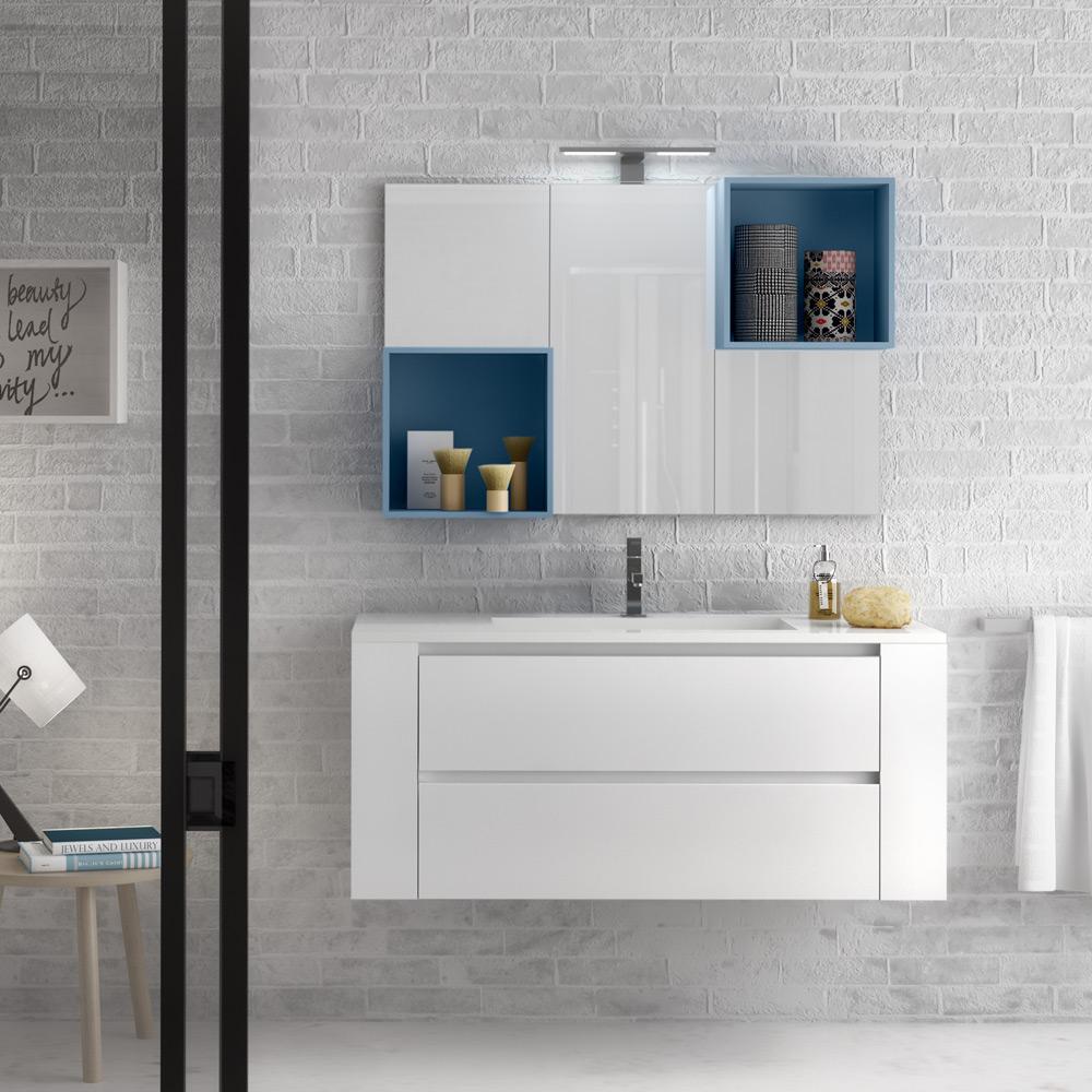 Arredamento bagno blu latest stile e colore delle - Mobili bagno blu ...