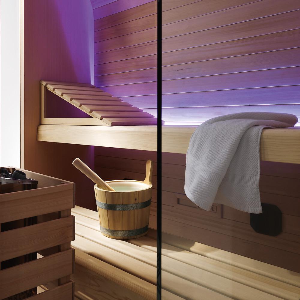Accessori Per Bagno Turco.Particolare Accessori Saune Bagno Turco Hafro Geromin Sauna Vita 2