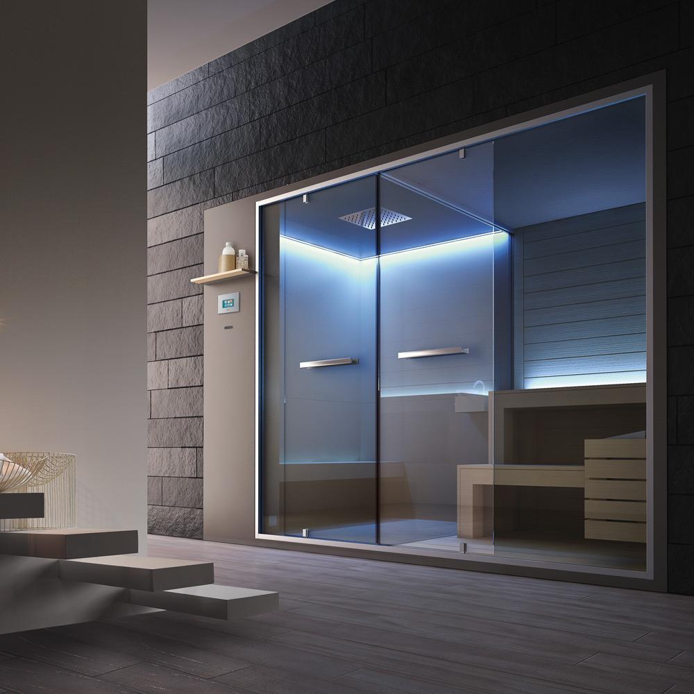 Hammam + Sauna 310x150x215h