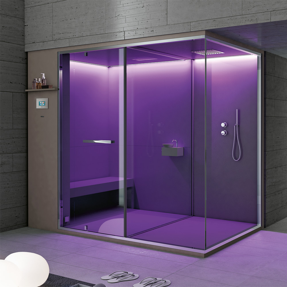 Hammam + Shower 242x150x215h