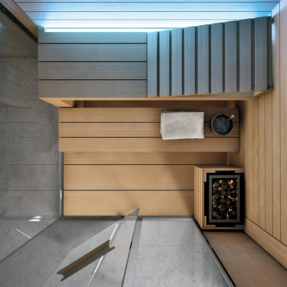 Ghibli Sauna - Particolare