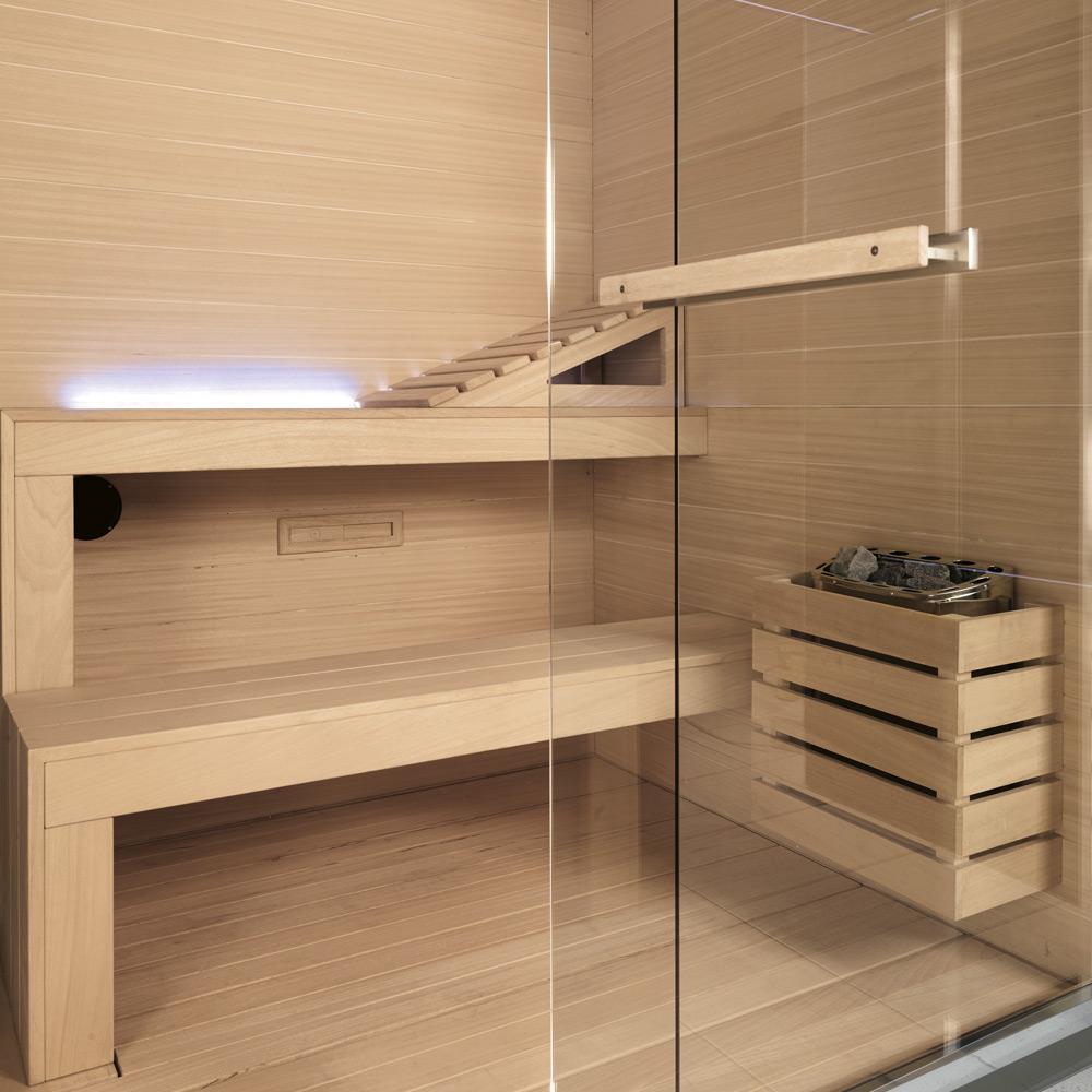 Ambiente confortevole e allestimento in legno