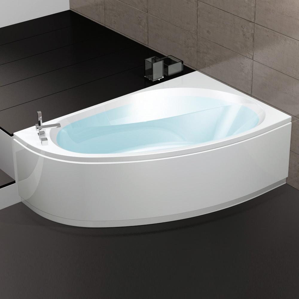Vasca dimensioni trendy vasche da incasso a parete o nelluangolo with vasca dimensioni a - Dimensioni minime vasca da bagno ...