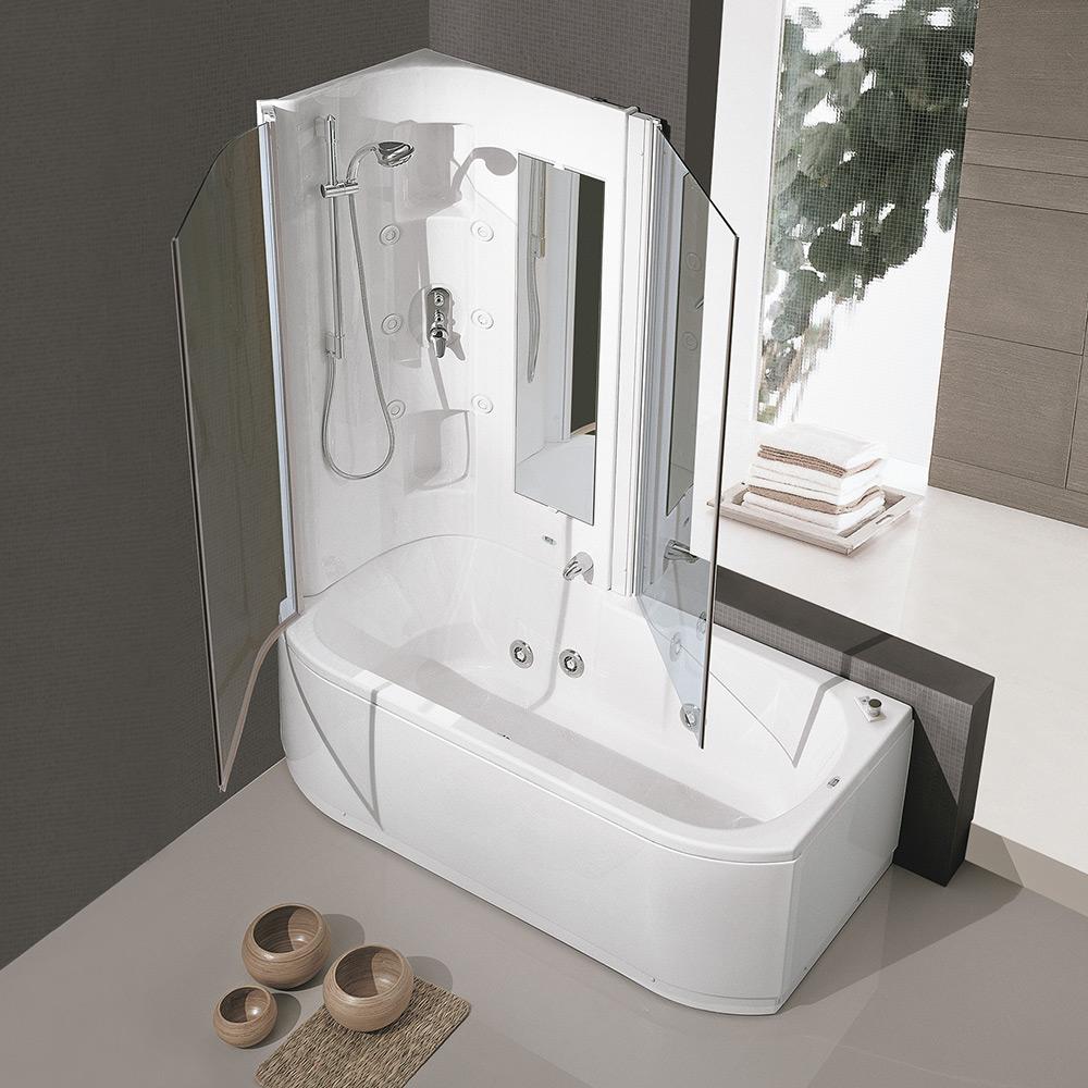 Duo box hafro geromin - Vasche da bagno con box doccia incorporato ...