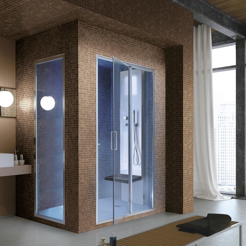Rigenera 200 hafro geromin - Box doccia con sauna e bagno turco ...