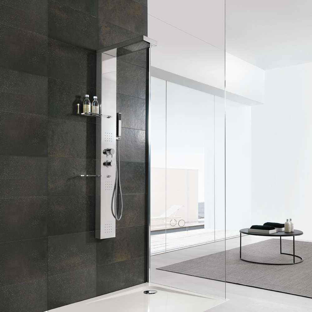 Colonne doccia hafro geromin for Colonne bagno moderne