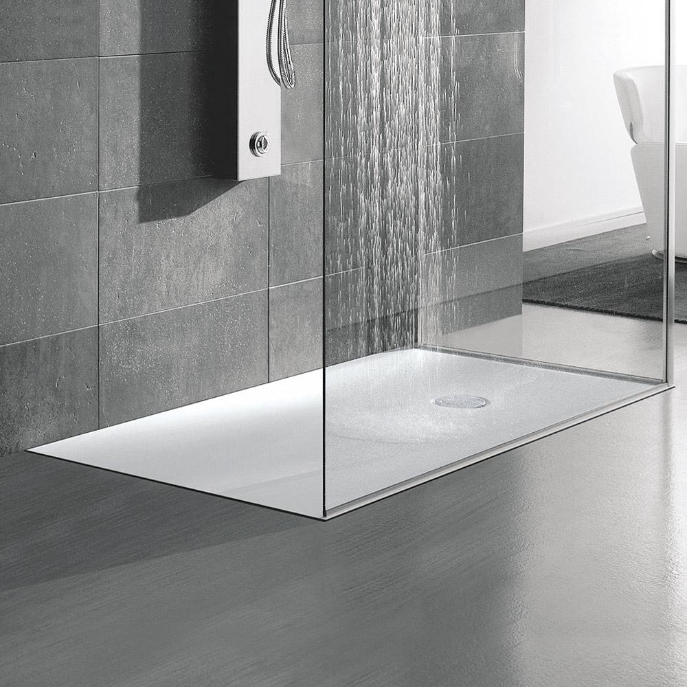 Corian hafro geromin - Piatto doccia incassato nel pavimento ...