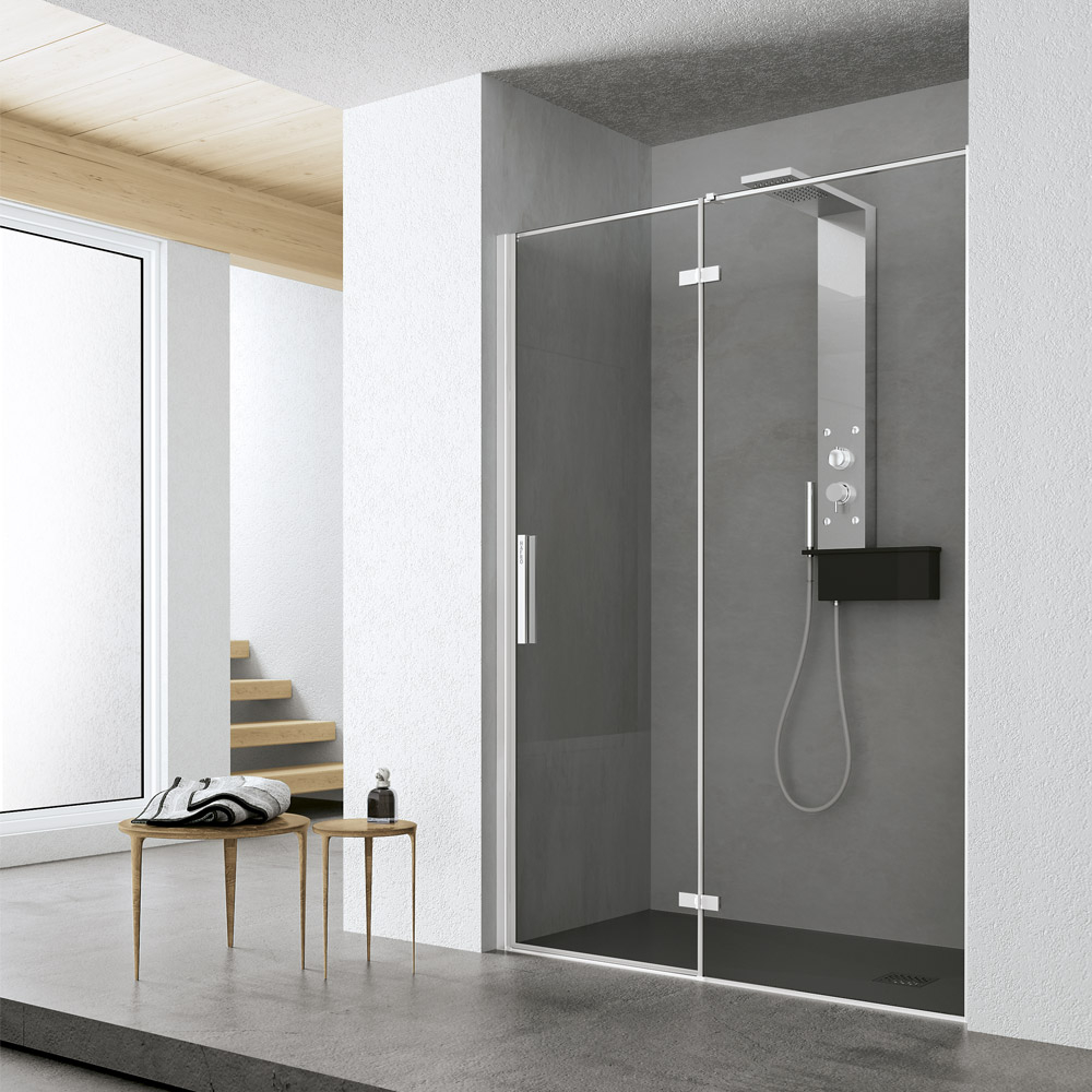 Time battente hafro geromin - Siliconare box doccia interno o esterno ...