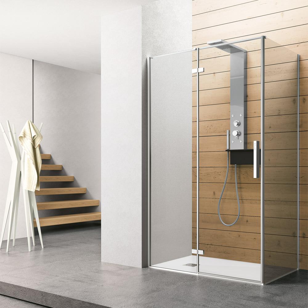 Cabine doccia hafro geromin for Layout bagno padronale con cabina doccia
