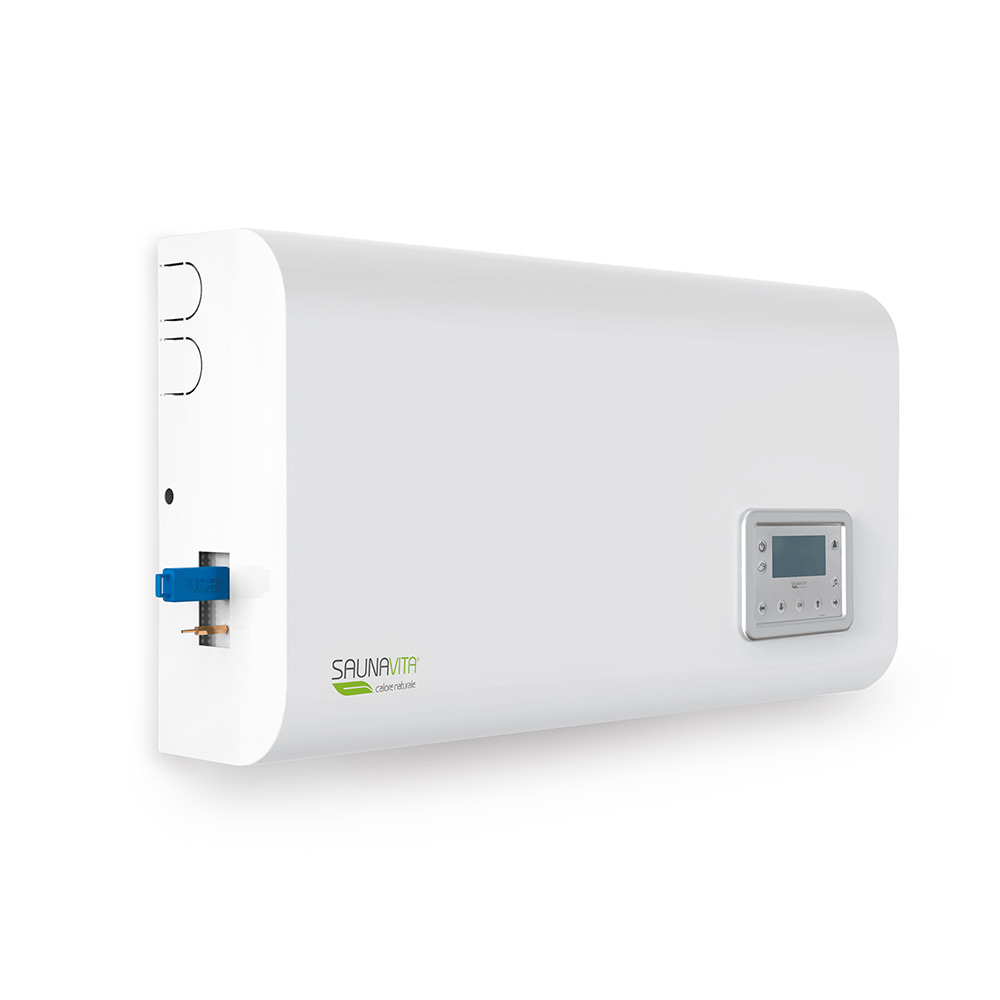 gestione di luce cromoterapia sistema audio programmazione settimanale usb aux