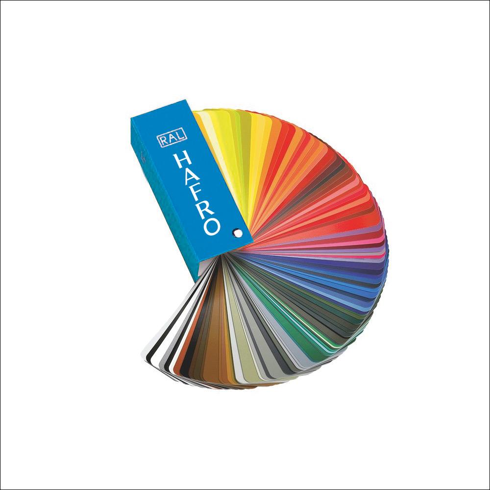Personalizzazione cromatica con scala RAL