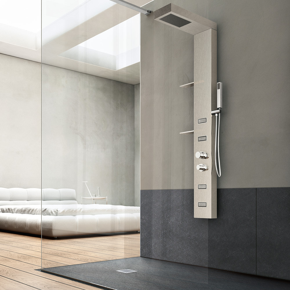 Pannelli di rivestimento hafro geromin - Pannelli per rivestimento interno doccia ...
