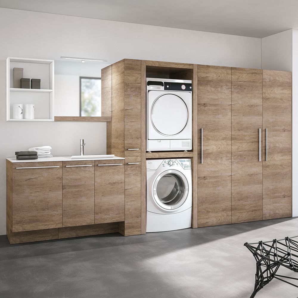 Arredo lavanderie hafro geromin - Accessori lavanderia casa ...