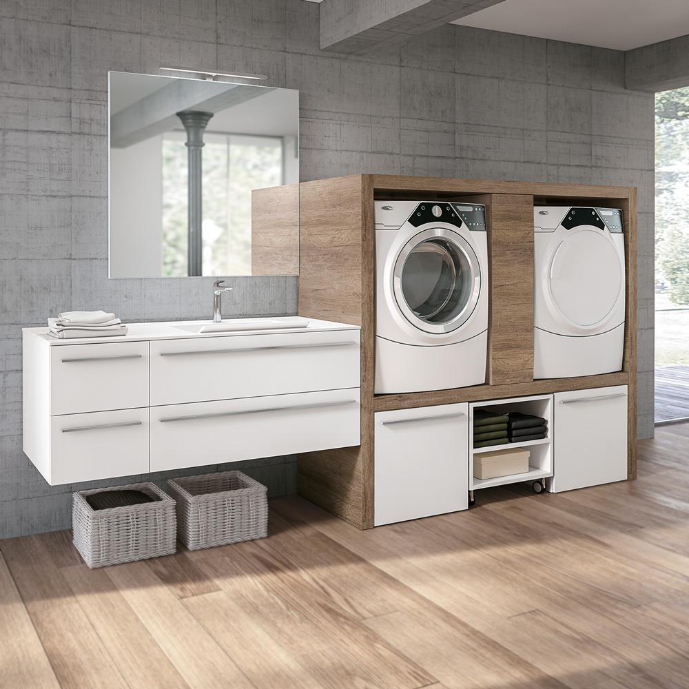 Arredo lavanderie hafro geromin - Arredo lavanderia bagno ...