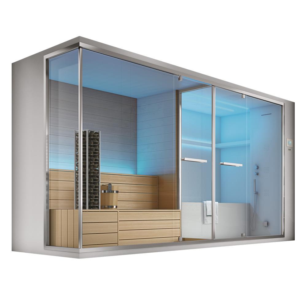 Olimpo hafro geromin - Box doccia con sauna e bagno turco ...